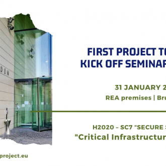 """Project to policy kick off seminar"" for security research"
