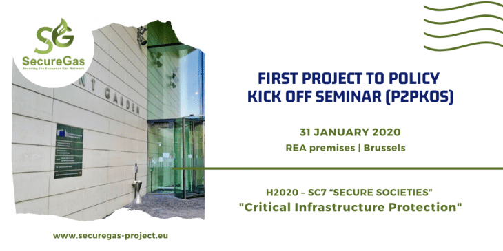"""""""Project to policy kick off seminar"""" for security research"""