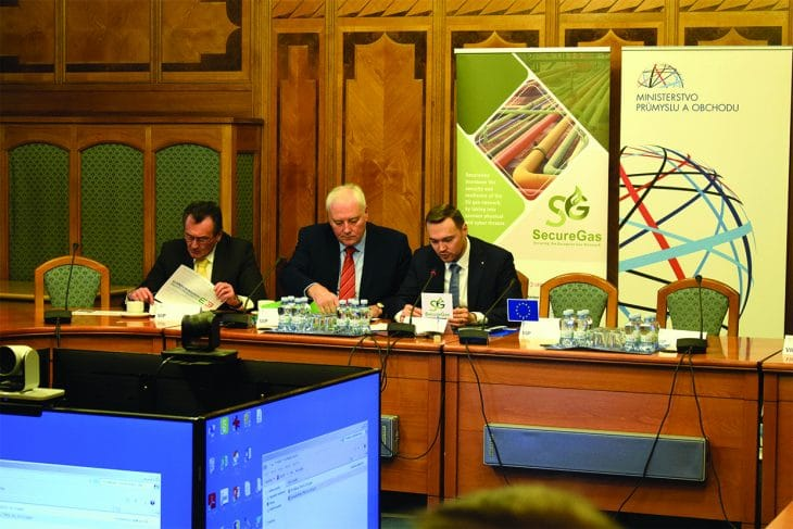 SecureGas at the Ministry of Industry and Trade of the Czech Republic