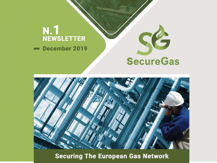 First SecureGas NEWSLETTER n.1 | December 2019