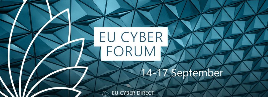 Working session at @EU Cyber Forum 2020