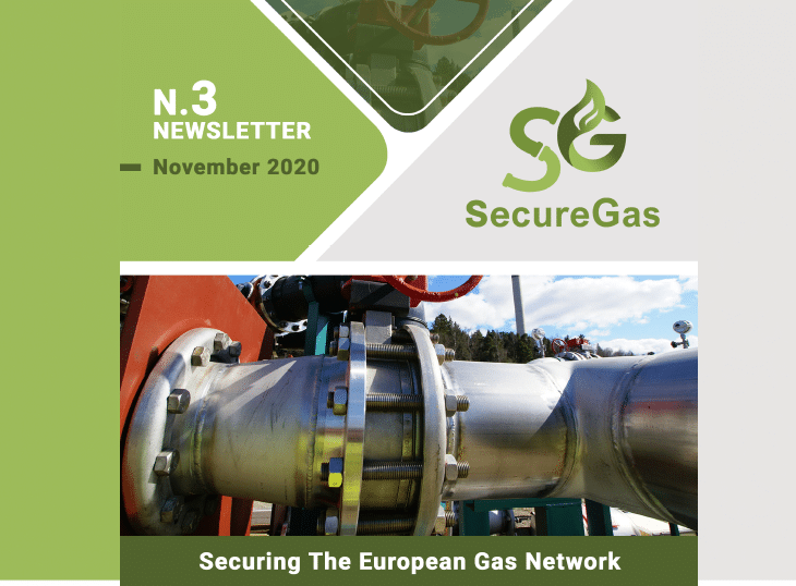 SecureGas NEWSLETTER n.3 | November 2020